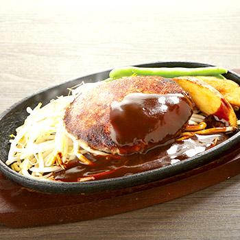 1ポンドのステーキハンバーグ タケル