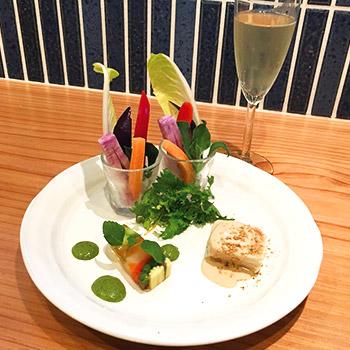 京野菜ごちそういろいろ 華いろ