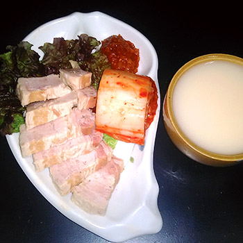 韓国家庭料理 豚たん