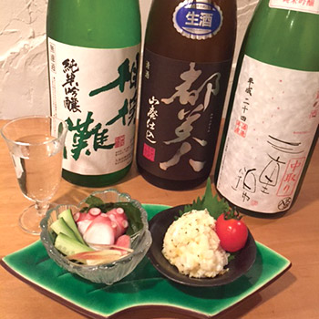 日本酒バー つるばら